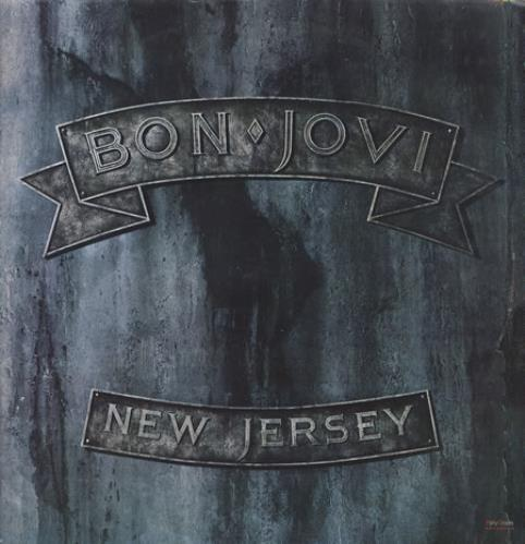 Bon Jovi New Jersey Brown Translucent Vinyl Mexican