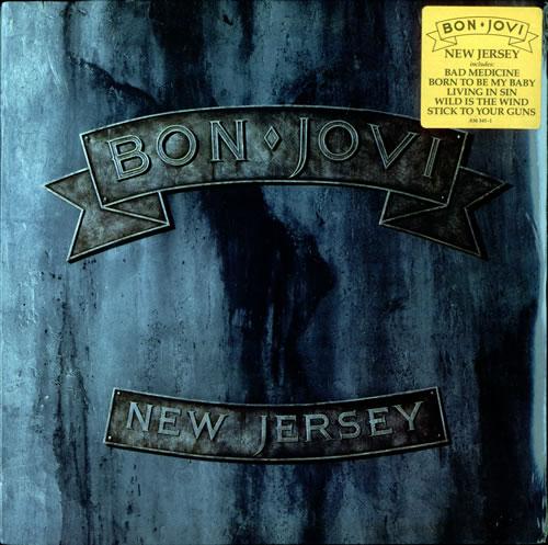 Bon Jovi New Jersey - Sealed vinyl LP album (LP record) US BONLPNE500554
