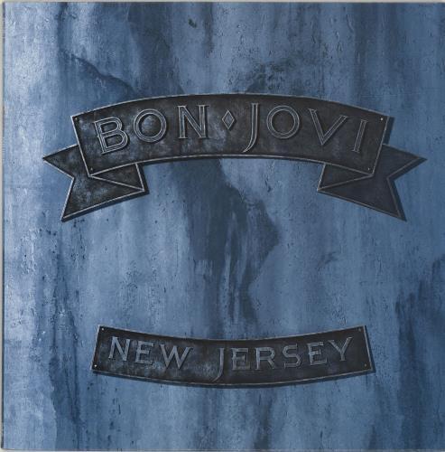 Bon Jovi New Jersey vinyl LP album (LP record) Spanish BONLPNE688882