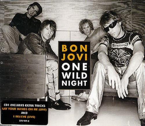 "Bon Jovi One Wild Night CD single (CD5 / 5"") UK BONC5ON297092"