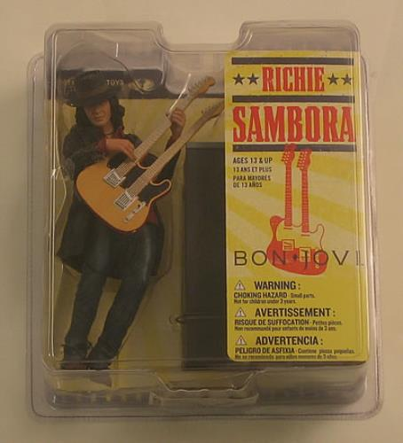 Bon Jovi Richie Sambora Figure Toy UK BONTYRI410237