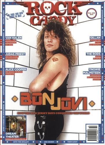 Bon Jovi Rock Candy - June-July 2019 magazine UK BONMARO736466