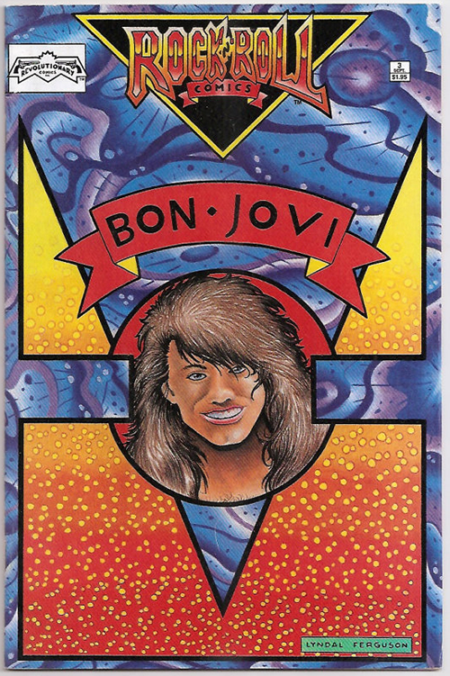 Bon Jovi Rock 'N' Roll Comics magazine US BONMARO177101