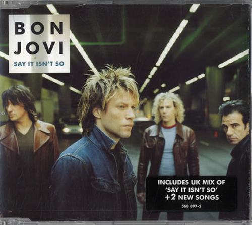 Bon Jovi Say It Isn't So 2-CD single set (Double CD single) UK BON2SSA164138