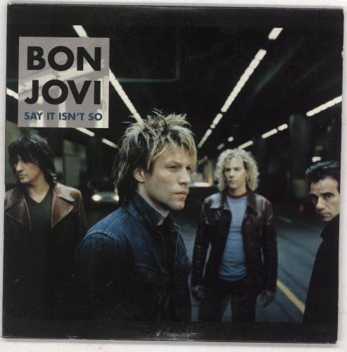 """Bon Jovi Say It Isn't So CD single (CD5 / 5"""") Australian BONC5SA738316"""