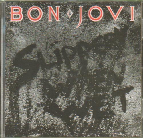 Bon Jovi Slippery When Wet CD album (CDLP) UK BONCDSL657660