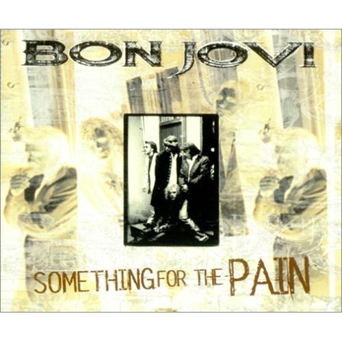 """Bon Jovi Something For The Pain CD single (CD5 / 5"""") UK BONC5SO53400"""
