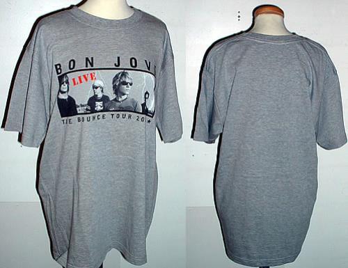 Bon Jovi The Bounce Tour 2003 - size L t-shirt Australian BONTSTH318227