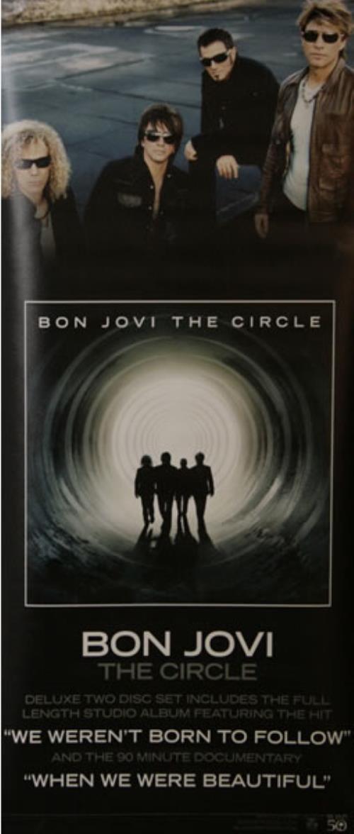 Bon Jovi The Circle display US BONDITH494392
