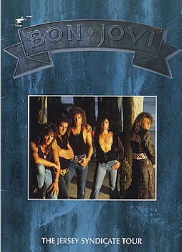 Bon Jovi The Jersey Syndicate Tour tour programme Japanese BONTRTH47606