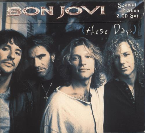 Bon Jovi These Days - Double 2 CD album set (Double CD) UK BON2CTH79353