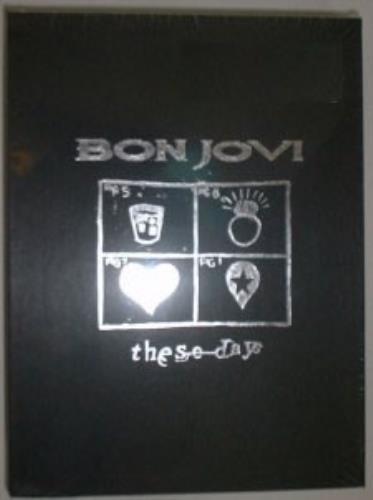 Bon Jovi These Days - Promo Box - Sealed box set US BONBXTH54298