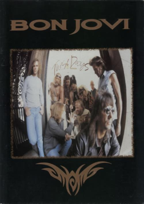 Bon Jovi These Days Tour 1996 tour programme UK BONTRTH326351