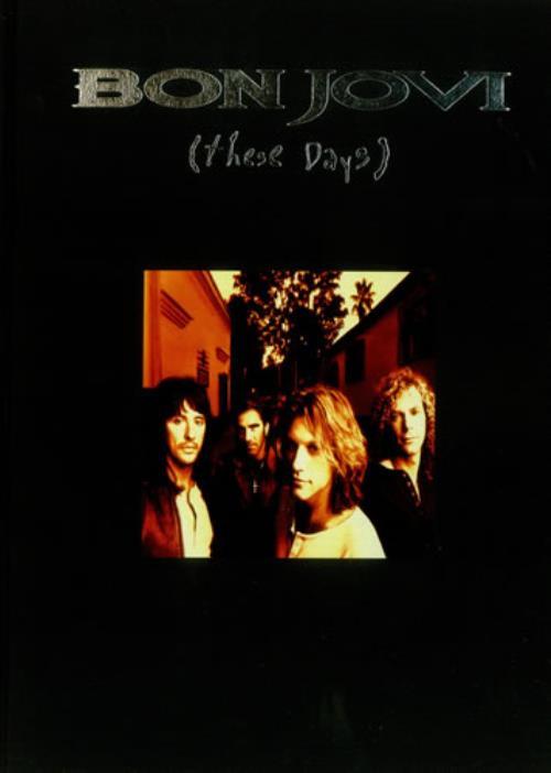 Bon Jovi These Days book Japanese BONBKTH138000