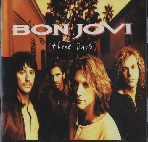 Bon Jovi These Days CD album (CDLP) Canadian BONCDTH189188
