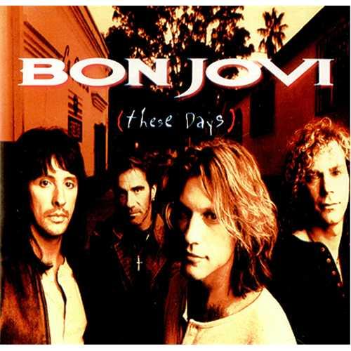 Bon Jovi These Days CD album (CDLP) Australian BONCDTH412595