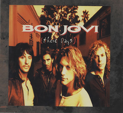 Bon Jovi These Days CD album (CDLP) Japanese BONCDTH435899