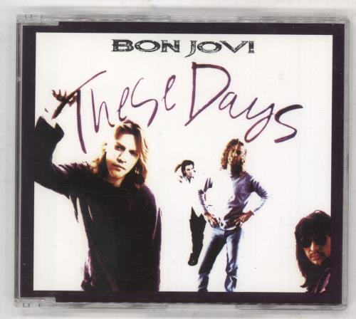 "Bon Jovi These Days CD single (CD5 / 5"") Australian BONC5TH60665"