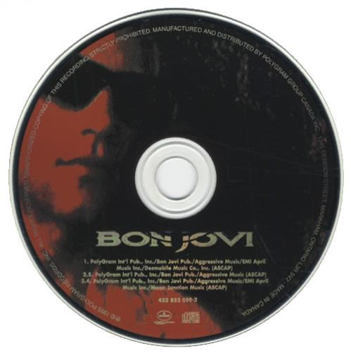 "Bon Jovi This Ain't A Love Song CD single (CD5 / 5"") Canadian BONC5TH432682"