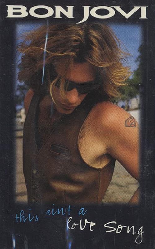 Bon Jovi This Ain't A Love Song cassette single US BONCSTH46567