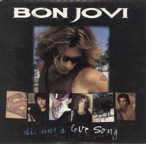 """Bon Jovi This Ain't A Love Song CD single (CD5 / 5"""") Australian BONC5TH738282"""