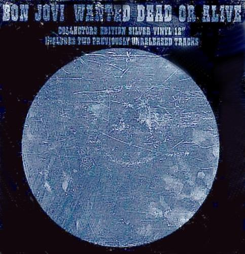 Bon Jovi Wanted Dead Or Alive display UK BONDIWA300942