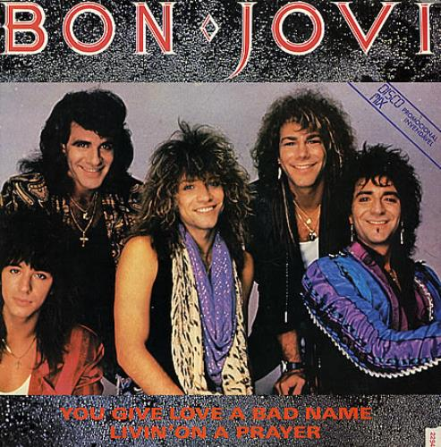 Bon Jovi You Give Love A Bad Name Brazilian Promo 12