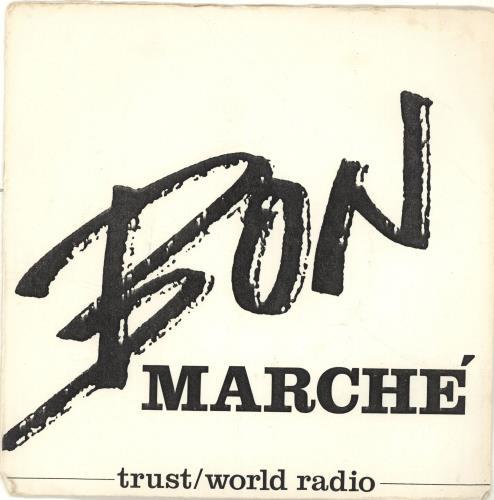 "Bon Marche Trust 7"" vinyl single (7 inch record) UK QQ507TR693231"