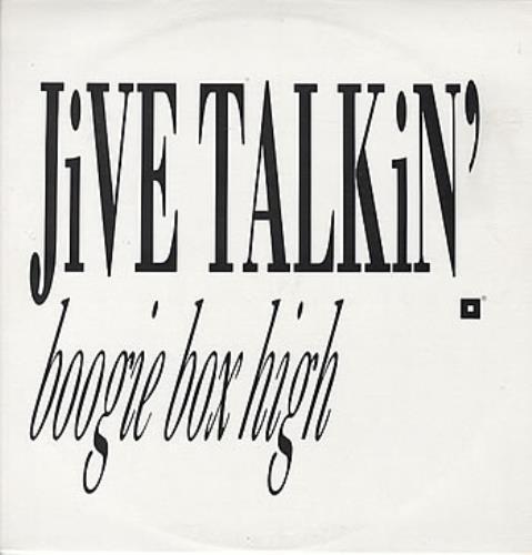 "Boogie Box High Jive Talkin' 12"" vinyl single (12 inch record / Maxi-single) Australian BBX12JI310979"