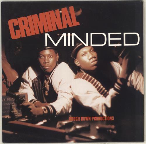 Boogie Down Productions Criminal Minded vinyl LP album (LP record) US B9OLPCR713142
