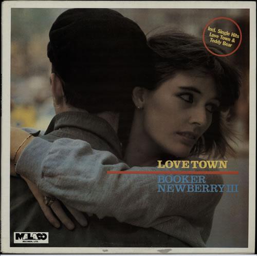 Booker Newberry III Love Town vinyl LP album (LP record) UK C7PLPLO573297