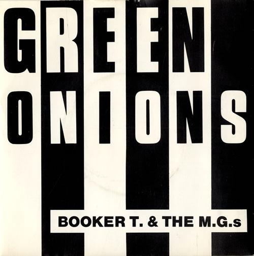 "Booker T. & The M.G.'s Green Onions - P/S 7"" vinyl single (7 inch record) UK BKT07GR553621"