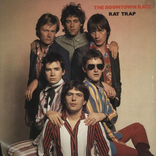 "Boomtown Rats Rat Trap - Wide Centre 7"" vinyl single (7 inch record) UK RAT07RA731741"