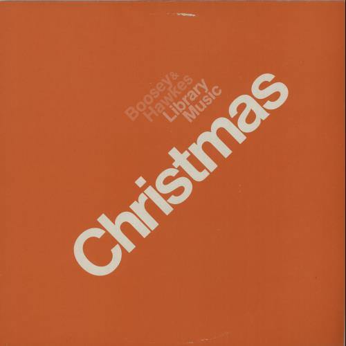 Boosey & Hawkes Christmas vinyl LP album (LP record) UK F3ZLPCH643325