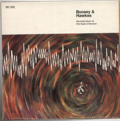 Boosey & Hawkes Recorded Music For Film, Radio & Television vinyl LP album (LP record) UK F3ZLPRE612813