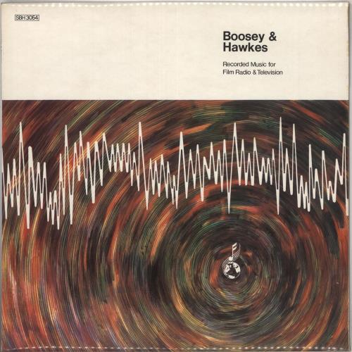 Boosey & Hawkes Recorded Music For Film, Radio & TV vinyl LP album (LP record) UK F3ZLPRE613570