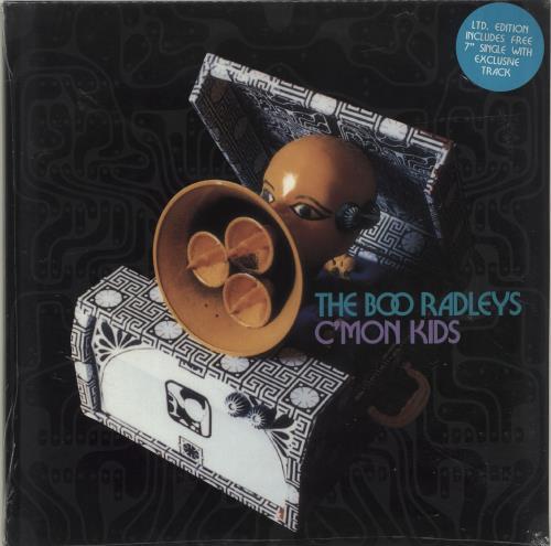 "Boo Radleys C'Mon Kids + 7"" - Sealed 2-LP vinyl record set (Double Album) UK BOR2LCM695955"