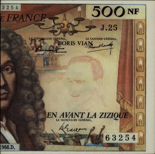 Boris Vian En Avant La Zizique vinyl LP album (LP record) French H2RLPEN635187