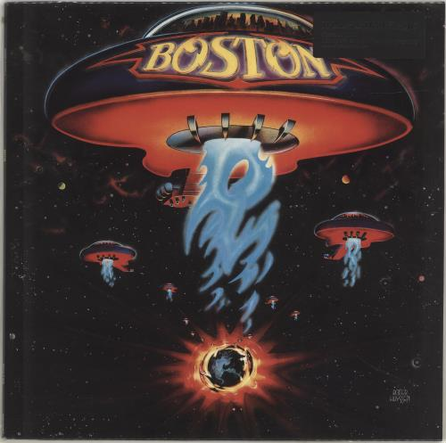 Boston Boston vinyl LP album (LP record) Dutch BOSLPBO497052
