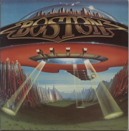 Boston Don't Look Back vinyl LP album (LP record) US BOSLPDO757829