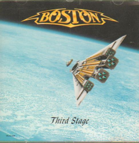 Boston Third Stage CD album (CDLP) US BOSCDTH50374