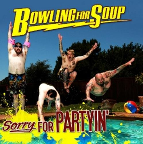 Bowling For Soup Sorry For Partyin\' UK CD album (CDLP) (485102)