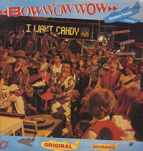 Bow Wow Wow I Want Candy vinyl LP album (LP record) UK BWWLPIW245193