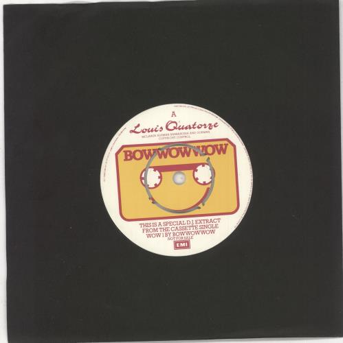 "Bow Wow Wow Louis Quatorze 7"" vinyl single (7 inch record) UK BWW07LO730550"