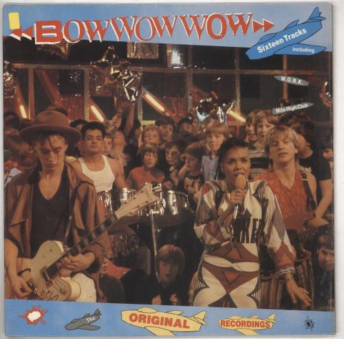 Bow Wow Wow Original Recordings vinyl LP album (LP record) UK BWWLPOR739149