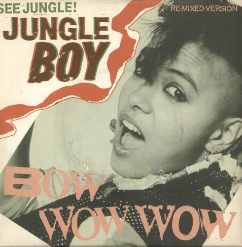 "Bow Wow Wow See Jungle! Jungle Boy + Sleeve 7"" vinyl single (7 inch record) UK BWW07SE287993"