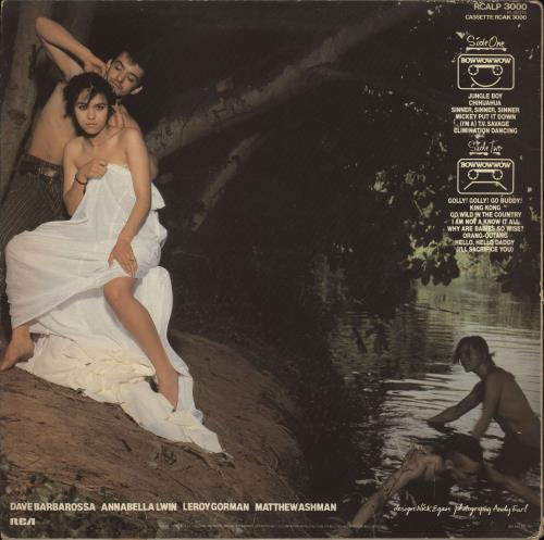 Bow Wow Wow See Jungle! See Jungle! - Anabella Sleeve vinyl LP album (LP record) UK BWWLPSE701708