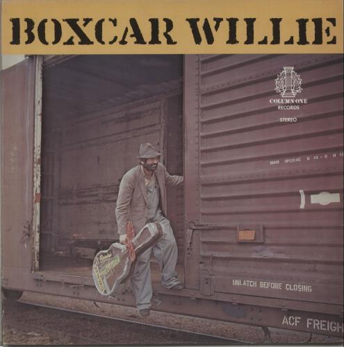 Boxcar Willie Boxcar Willie - Autographed vinyl LP album (LP record) US BXCLPBO671300