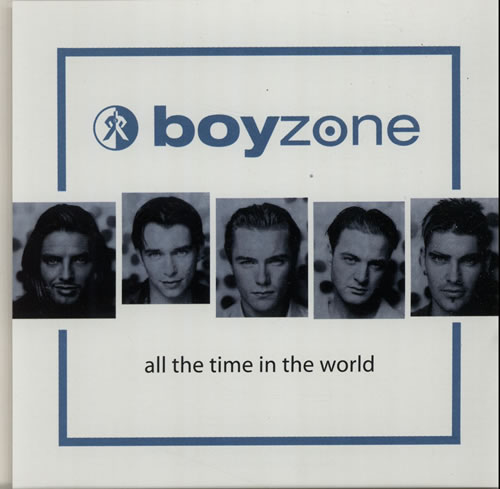 "Boyzone All The Time In The World CD single (CD5 / 5"") US BYZC5AL127529"