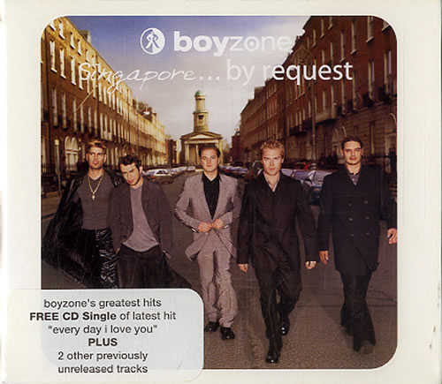 Boyzone By Request 2 CD album set (Double CD) Singapore BYZ2CBY151216